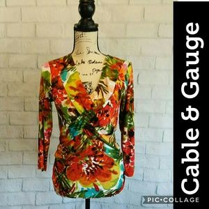 Stunning NWOT Cable & Gauge top